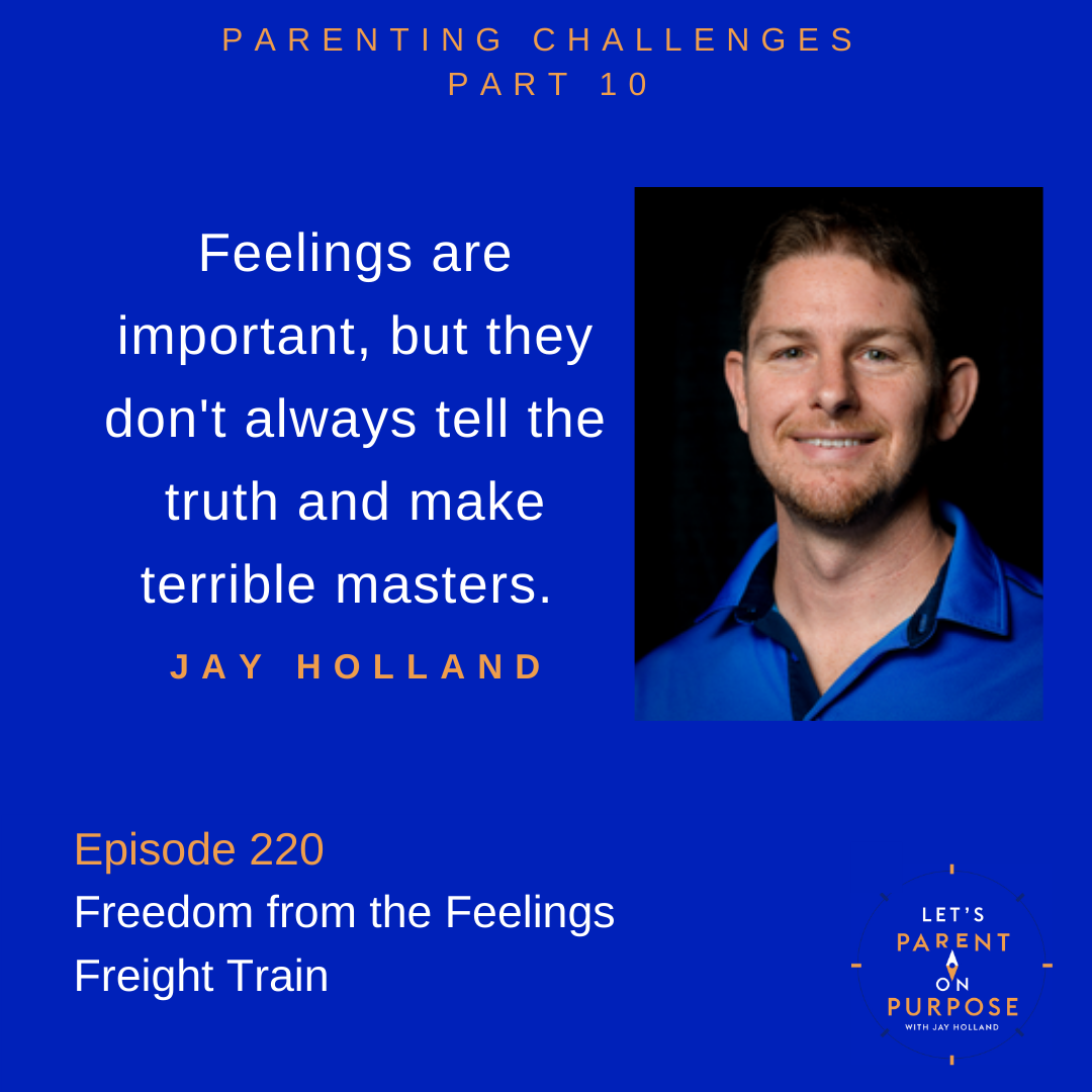 Freedom from the Feelings Freight Train