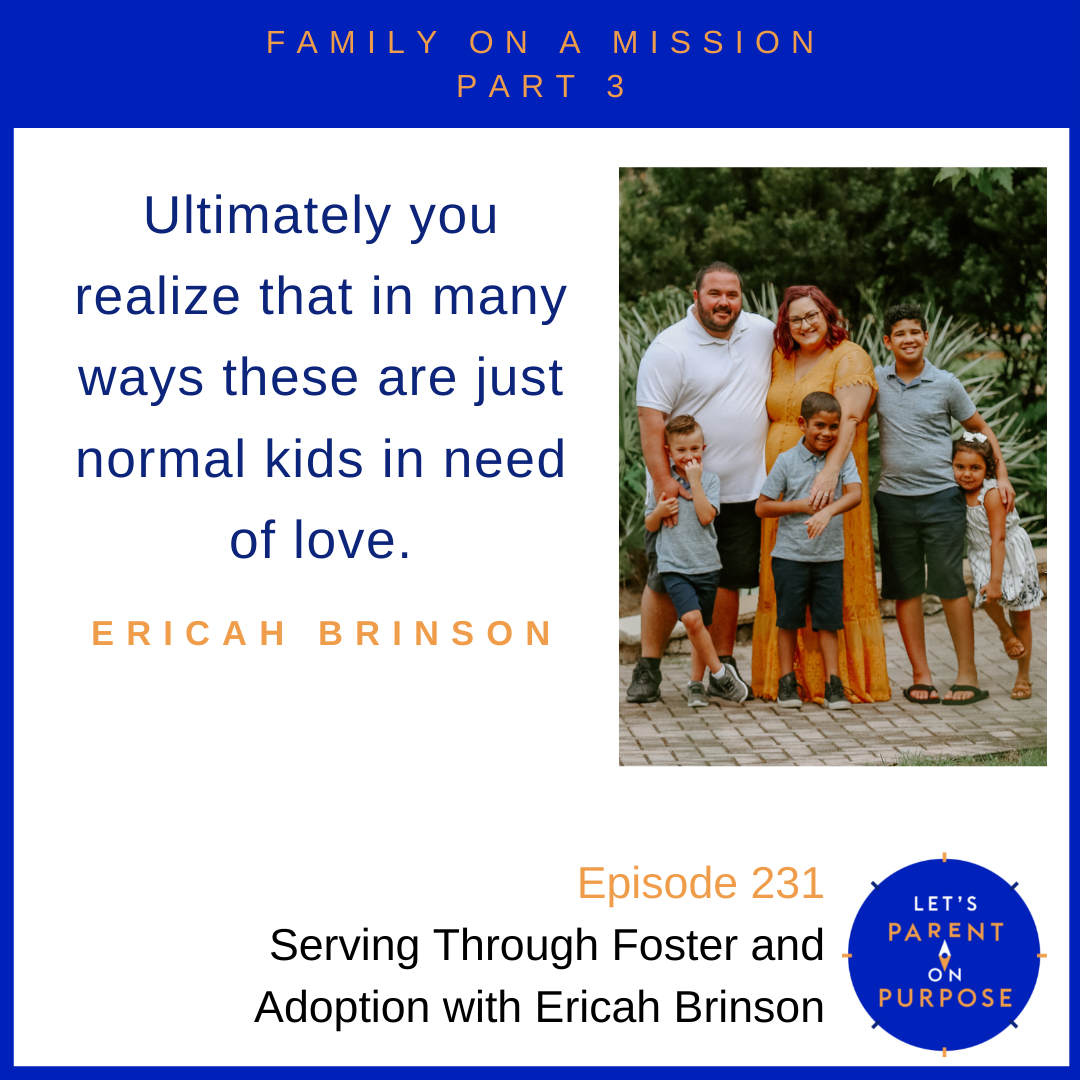 Serving Through Foster and Adoption with Ericah Brinson