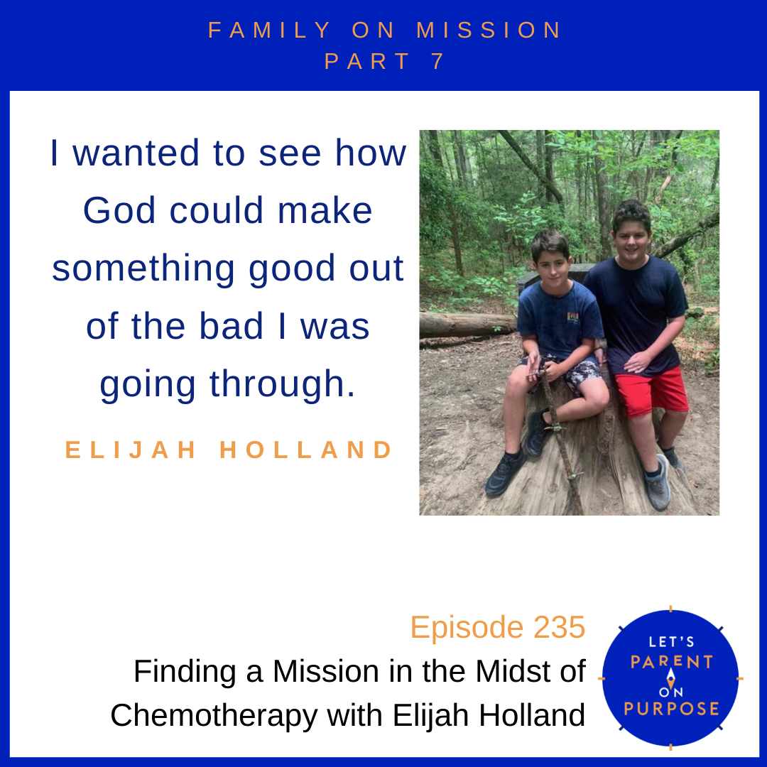 Finding a Mission in the Midst of Chemotherapy with Elijah Holland